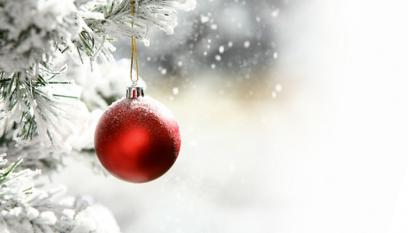 Bauble in the Snow