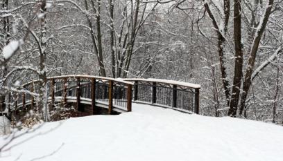 Bridge Over Snowy Water