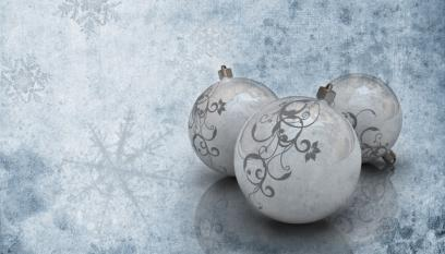Frosty Baubles
